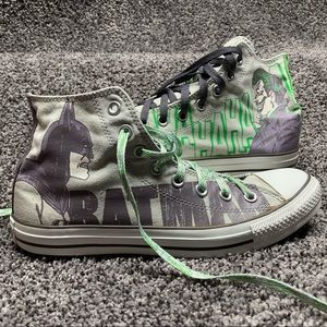 💚Joker and Batman Converse 🖤